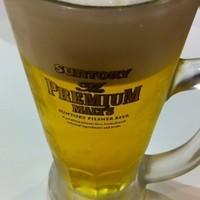 博多 一幸舎-生ビール500円