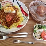 hono/hono/cafe - 料理写真:タコライスランチ
