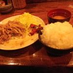 金魚鉢 - 中盛でおかわり(おかわりも無料!)