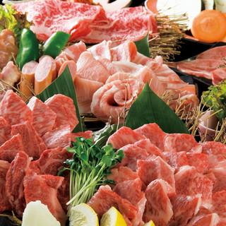 上質なお肉をお値打ち価格で。美味しい焼肉をたっぷり堪能!
