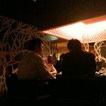 茶茶白雨 - テーブル喫煙席