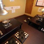 吉 - 2階の通路を抜ければ完全個室人気のお部屋ですので事前にご予約くださいませ。