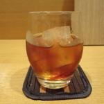 おいしゅうございます 北海道 - 黒糖の梅酒