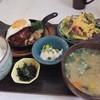 Imakafe - 料理写真:半熟玉子添えジューシーハンバーグ自家製オリジナルソース(1000円)。