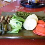 やまびこ食堂 - 2013年3月 お漬物