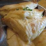 PANAS - ランチカレーセット:海老  サラダ、チーズナン、ラッシー付き4
