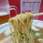 丸高中華そば - 麺