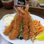 洋食の朝日 - 海老フライ、何と1000円!