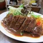 洋食の朝日 - ビーフカツ1300円