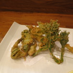 アカリ - 山菜の天ぷら