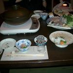 Japanese restaurant chihiro - 個室でゆっくり。赤ちゃん、プクプクほっぺ。。。生後2カ月で食べログデビューです♪♫♬ この後のお鍋の写真は撮れてません・・・。お喋りと食べるのに夢中~(笑)