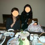 Japanese restaurant chihiro - さぁ、、、今から食べます。赤ちゃん寝ています。o^.^o生後2か月で食べログデビューの赤ちゃんも珍しい???o^.^o プクプクほっぺに可愛いお手手です~!!!きゃぁ~~\(^o^)/