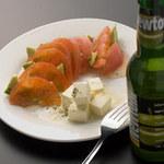 完熟トマトと熟成チーズの和風カプレーゼ