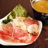 RAMEN DINING JinGu - 料理写真:当店NO.1メニュー!スーパープレミアムつけ麺☆