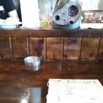 フルカワ食堂 - カウンター。