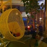 シーシャカフェ カンノーク - おひとり様用カゴ席