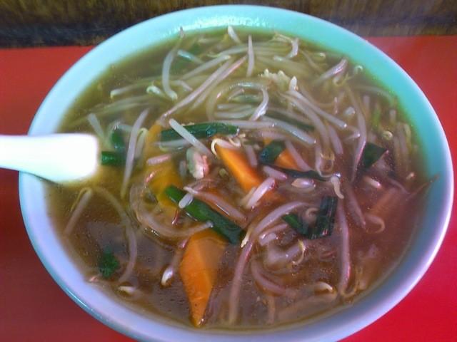 恵華 - カレー麺 550円