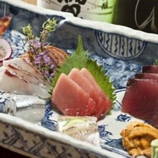 【料理長厳選】鮮魚のお造り
