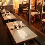 にぎり寿司・一品 まぐろ一徹 - ゆったり座れる掘りごたつ席もございます♪