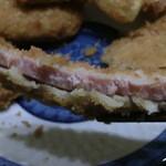 辻よし精肉店 - ハムステーキみたいなハムカツ