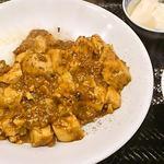 香巷菜 松楽 - 麻婆豆腐丼