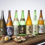 りしり - 北海道「男山」をメインとした日本酒が多種。メニューに載っていないレアなものも。