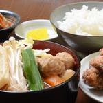 力士料理 富風 - 一番人気!!ちゃんから定食