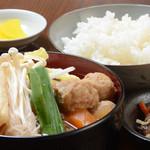 力士料理 富風 - 500円!!特選ちゃんこ定食
