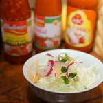 Cho Lon - 日替わりランチのサラダ