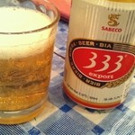 ニャーヴェトナム - ホーチミンセット ビール333(バーバーバー)