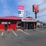 VILLA ROSSO TRE - お店の外観