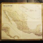 ジュウニ - メキシコとカリブ海の地図