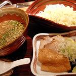 shokkan shibuya - 【ランチ】つけめん¥1000