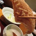 天麩羅 ひらいし - シャキシャキとした食感で美味しい!