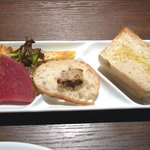 ヴィヴァッカス - 前菜とパン