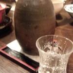 東新町 鳥銀 - 辛口の冷酒です!