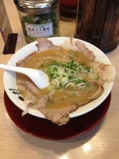 ラーメン横綱 - ラーメン横綱  外大前店のチャーシューメン(13.03)