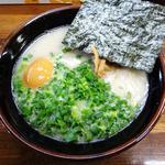 九州ラーメン 野永や - 博多ラーメン+味付玉子