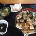 庄ヤ - 天丼1,350円