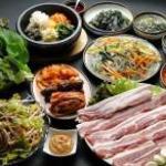 韓国家庭料理 済州 - ◇当店一番人気の「濟州」コース◇肉厚のサムギョプサルはおすすめ!