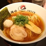らーめん 鶏喰 - 鶏醤油ら~めん(750円)