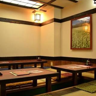 ◆奥の座敷席は接待や会合にもお使いください。