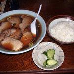 1808219 - 焼豚拉麺 & ライス