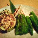 1808776 - 野菜の焼き物