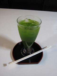 たわらや - たわらやだけのオリジナルブレンド抹茶ジュース! 四〇〇円