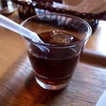 カフェオットー シクロ - ドリンクバーのアイスコーヒーいただきました。