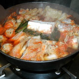 野菜たっぷりのゆうちゃん鍋