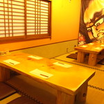 となみ丸 - 青森の情緒漂う店内にはお座敷もあります!!ゆっくりと寛いでお食事を楽しんで下さい。