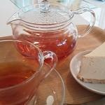 レン - 川根紅茶のチーズケーキセット