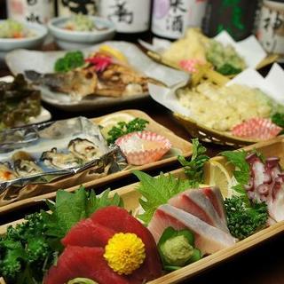 季節の一品料理も豊富にご用意しております。